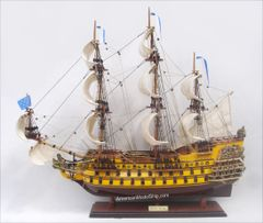 """Soleil Royal Painted Model Tall Ship 30"""""""