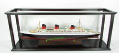 """Display Case Self-assemble Ship included Acrylic for cruise ships/ ocean liners length from 30"""" to 35"""""""