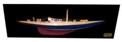 "ENDEAVOUR HALF HULL Model Ship 36"""