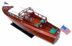 """Chris Craft Commuter Cruiser 1929 Model Ship 34"""""""