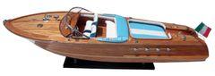 "RIVA AQUARAMA WOOD Speed Boat 35"""