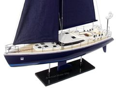 "STORM 2 Wooden Model Yacht 32"""