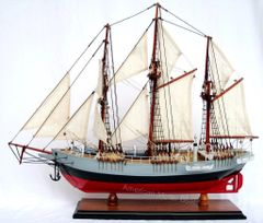 "Fram Norwegian Antarctic Exploration Model Ship 19"""