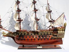 HMS Sovereign of the Seas 1637 Tall Ship Model 36""