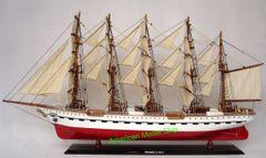 "FRANCE II Museum Quality Tall Ship Model 38"""