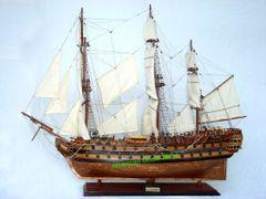 "LE SUPERBE Copper Hull Tall Ship 35"""