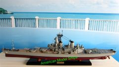 USS WISCONSIN BB64 Battleship Model 43""