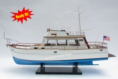 """Grand Banks 32 Blue Hull Ready For RC Model 39"""""""