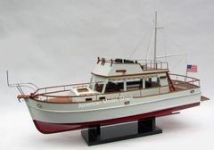 """Grand Banks 32 Ready For RC Red Paint Model 39"""""""