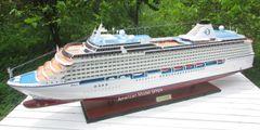 "Oceania Cruises Riviera Cruise Ship Model 47"" Scale 1:200"