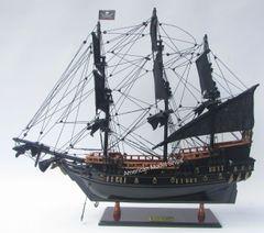 """Black Pearl Caribbean Pirate Red Deck Model 20"""""""