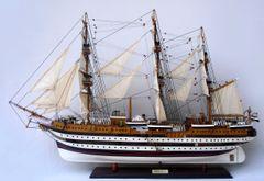 "Amerigo Vespucci Italian Model Tall Ship 37"""