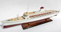 "SS Leonardo da Vinci Italian Line Ocean Liner Model Ship 34"""