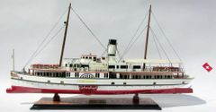 Paddle Steamship Stadt Luzern Model Ship 29""