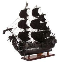 "Black Pearl Caribbean Pirate Tall Ship 37"""