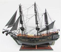 "Black Pearl Caribbean Pirate Tall Ship Assembled 36"""