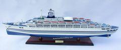 "SS SEABREEZE Ocean Liner Ship Model 34"" Scale 1:212"