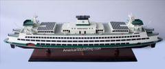 "Washington State Ferry Tacoma Ship Model 35"""
