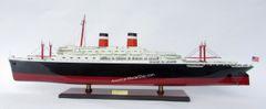 """SS INDEPENDENCE Ocean Liner Red Black Model 40"""""""