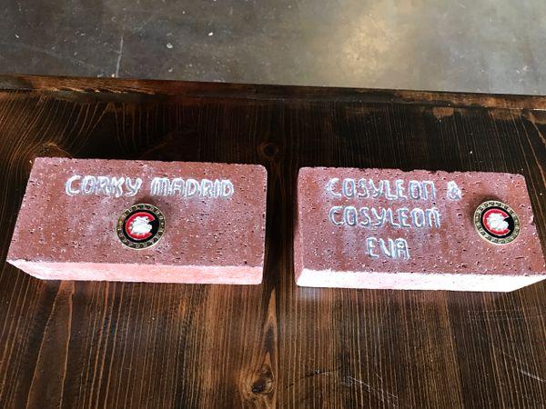 "Centennial ""Supporter "" Commemorative Brick"