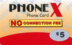 Phonex calling card