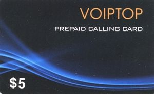 VOIPTOP Calling card