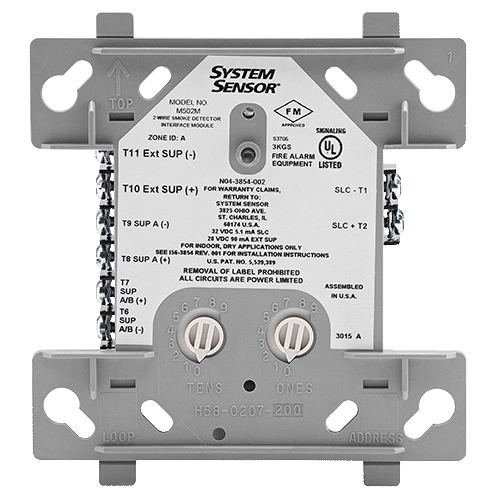 MRI-M502M Monitor Module, Supports 2-Wire Smoke Detectors