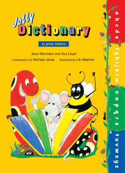Jolly Dictionary (In Print Letters) Hardback Edition