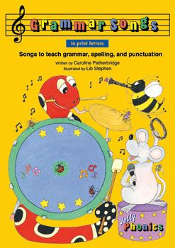 Grammar Songs (In Print Letters) Book and CD