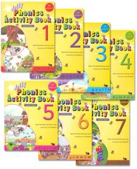 Jolly Phonics Activity Book 1-7 (In Print Letters)