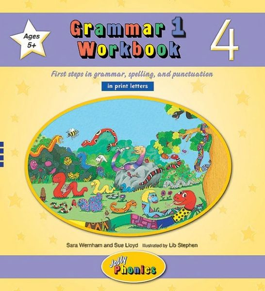 Grammar 1 Workbook 4 (in print letters)