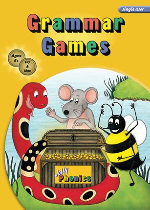 Grammar Games CD (single user)