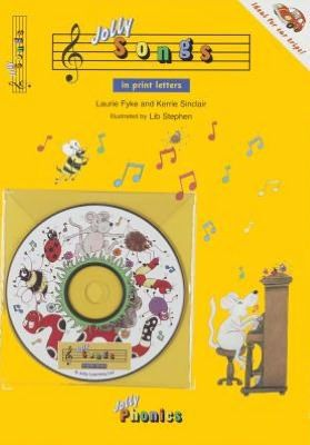Jolly Songs (In Print Letters) Book and CD