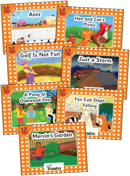 Jolly Phonics Orange Level Readers Complete Set