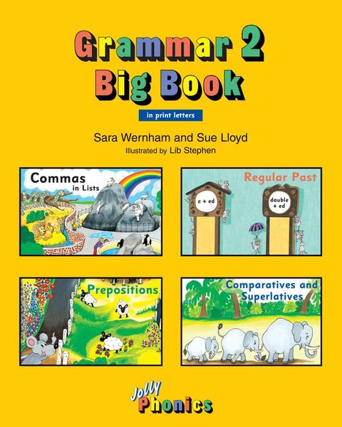 Jolly Grammar Big Book 2 ( In Print Letters )