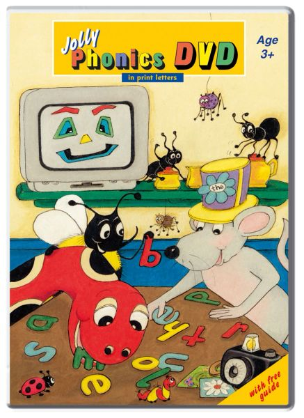 Jolly Phonics DVD (In Print Letters )