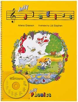 Jolly Jingles (In Print Letters) Big Book and CD