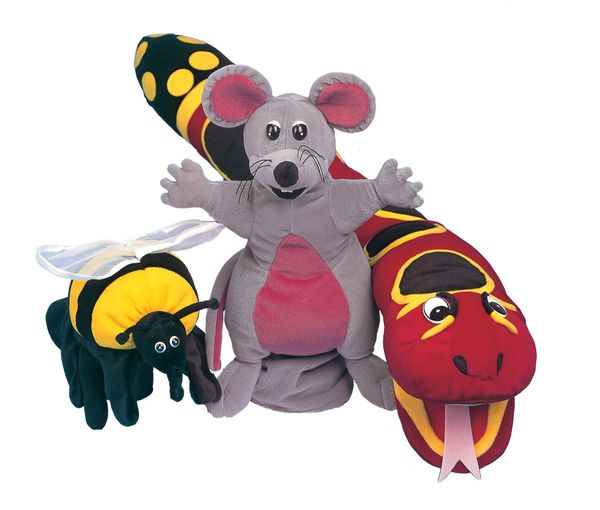 Jolly Phonics Puppets Set of all 3