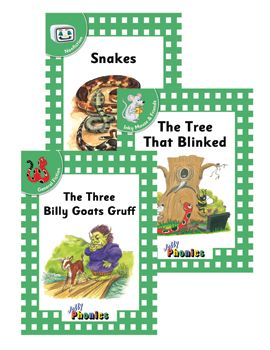 Jolly Phonics Readers Level 3 Complete Set (In Print Letters)
