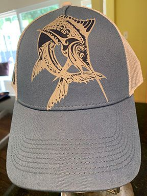 Seamount Marlin Tattoo Hat
