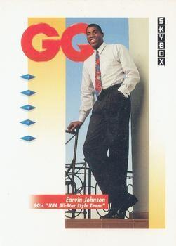 1991 SkyBox #323 Earvin Johnson - Standard