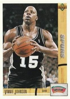 1991 Upper Deck SPURS #425 Vinnie Johnson - Standard