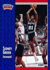 1991 FLEER #354 Sidney Green - Standard