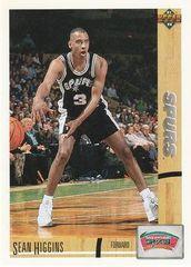1991 Upper Deck #25 Sean Higgins - Standard