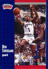 1991 FLEER #188 Rod Strickland - Standard
