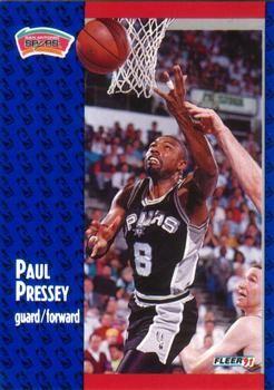 1991 FLEER #186 Paul Pressey - Standard