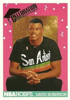 1991 NBAHoops #327 David Robinson - Standard