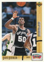 1991 Upper Deck #324 David Robinson - Standard