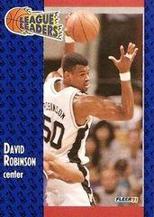 1991 FLEER #225 David Robinson - Standard