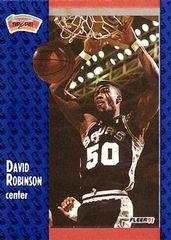 1991 FLEER #187 David Robinson - Standard